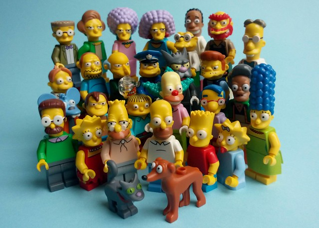 The Simpsons - Characters 2014-2015