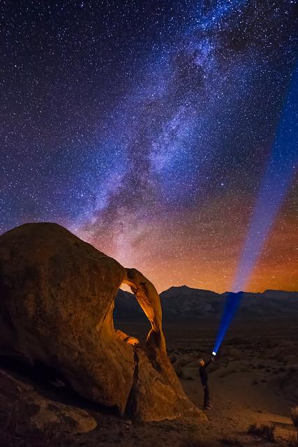 Cyclops Arch at Night