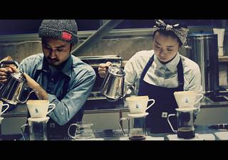 Blue Bottle Coffee, Kiyosumi cafe: ブルーボトルコーヒー 清澄白河