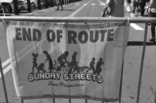 Sunday Streets Embarcadero - End of Route