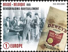 04 DE GROOTE OORLOG 1915 timbre B