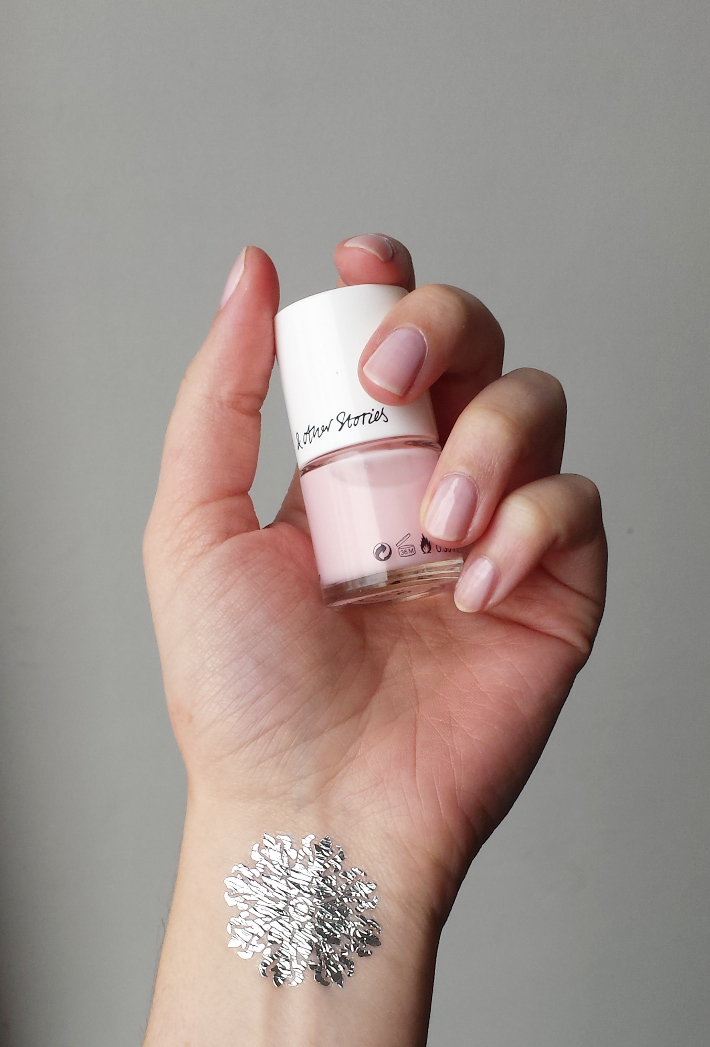 glazé pink: And Other Stories nail colour review and swatches