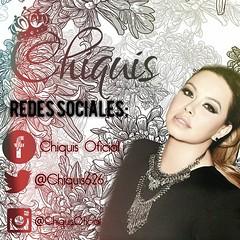 ¡Sigan a @chiquisoficial en todas sus cuentas oficiales de las redes sociales! ⬇⬇⬇⬇ Facebook: Chiquis Oficial Instagram: @chiquisoficial  Twitter: @Chiquis626 ⬆⬆⬆⬆ #BossBeeNation#Chiquis #LaMalquerida#BOSSBEE #ChiquisLaMalquerida #ChiquisRivera #ChiquisOn