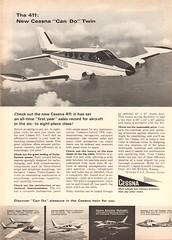 1966 Cessna Advertisement Newsweek April 18 1966