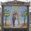 Tombe familiale du mosaïste Pierre de Guisti, détail - Cimetière de l'Est, Agers (49)