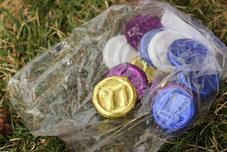 Passover coins (3rd grade Old Testament studies)