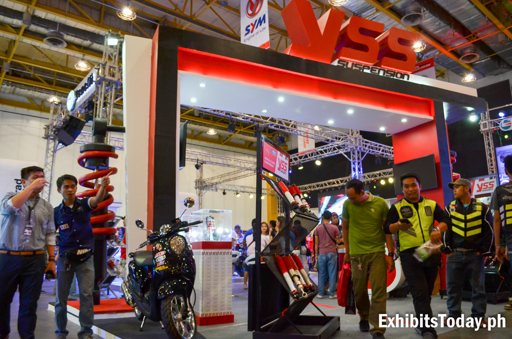 YSS Suspension Trade Show Display