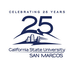 CSUSM 25th Anniversary Logo