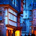 Oooooold city of Quimper in Brittany, France ;-). Quimper dans le Finistère par nuit nouère;-) by Phil Nistère