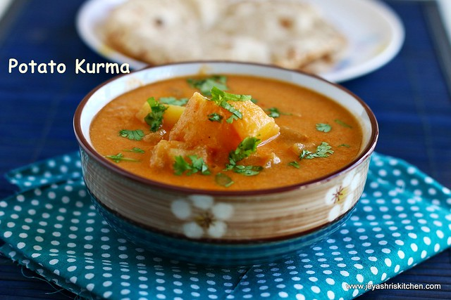 potato kurma