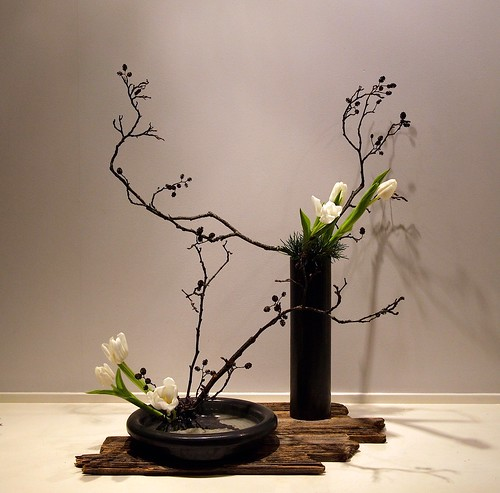 Flower Arrangements Basics: The Nordic Lotus Ikebana Blog: Curved Lines In Basic Styles