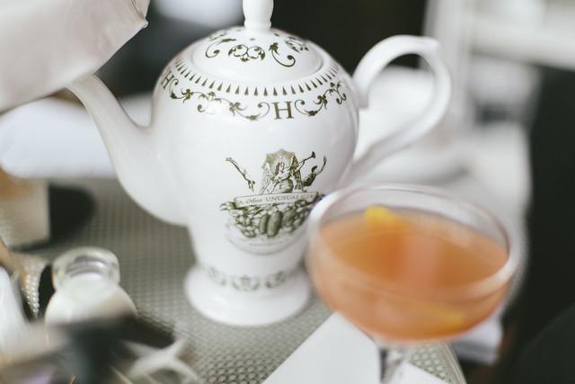 W Hotel Afternoon Tea