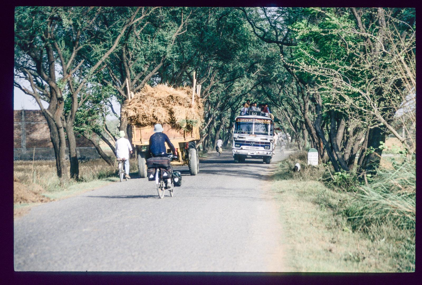 Voyager en Inde à vélo - Les Dieux de la route