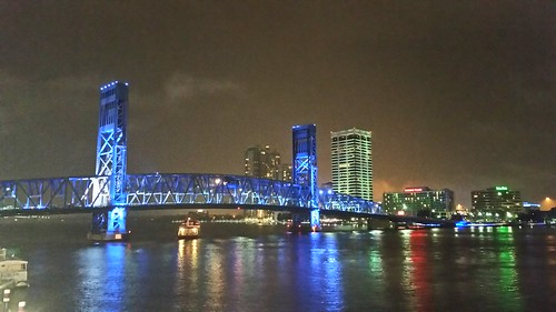 bridge blue moon water night landscape mainstreet nighttime jacksonville alsop stjohnsriver lovefl iwantjacksonville