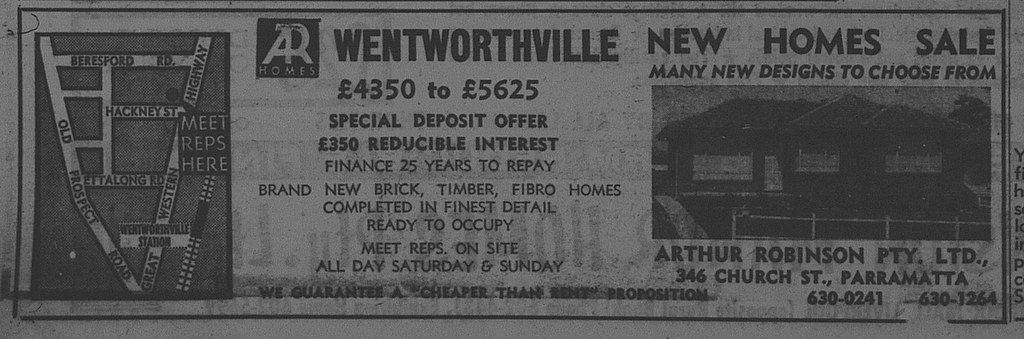 Wentworthville Ad May 6 1967 daily telegraph 30