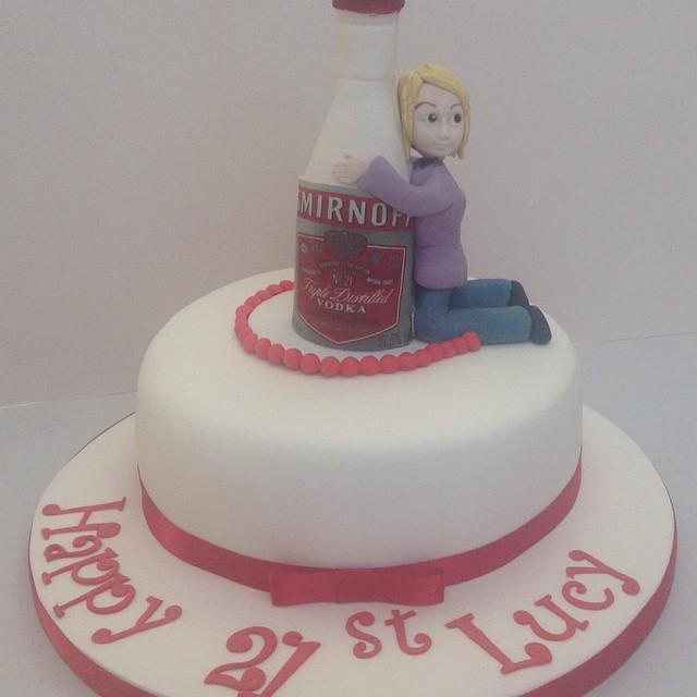 Smirnoff Bottle Cake A Photo On Flickriver