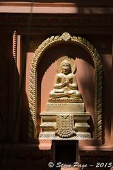 ~ Buddha On Temple Wall ~