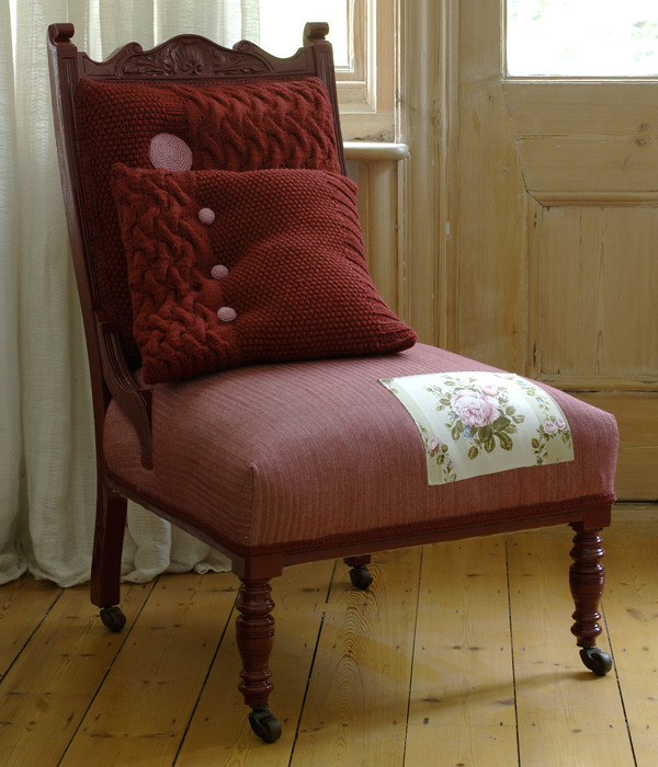 designer maker : knitted chairs by Melanie Porter | Emma Lamb