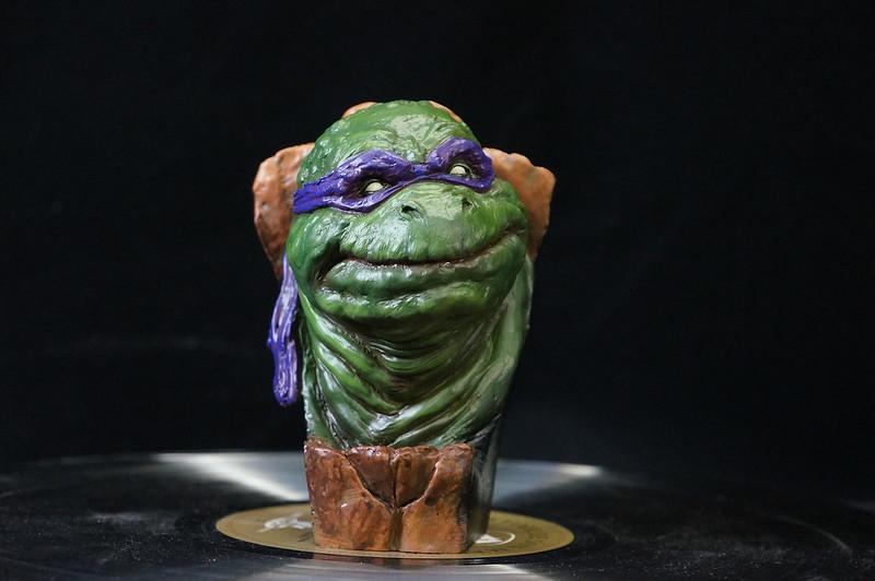 1/4 TMNT sculpté par Cyril Roquelaine 17314739025_b24fa57aec_c