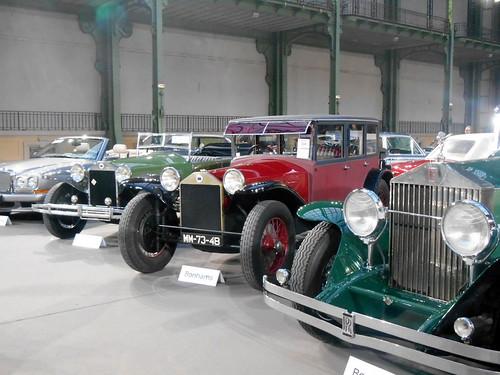 DSCN8537 Lancia Lambda torpedo 1925 + limousine Weymann 1928