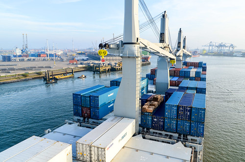 Eemhaven, port of Rotterdam