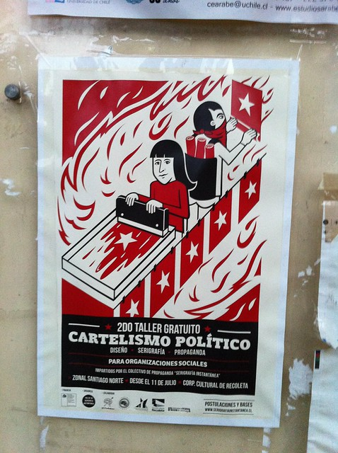 affiche Santiago de Chile july 2016