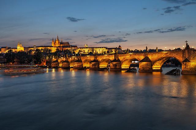 Charles Bridge by Night