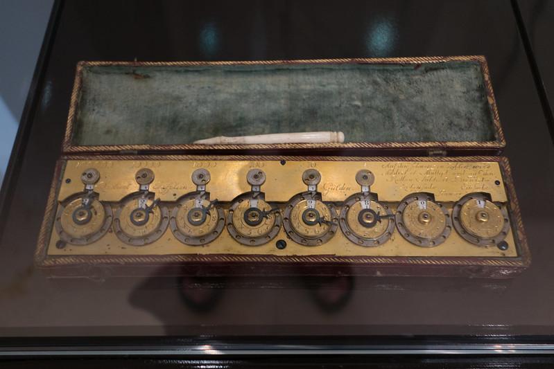Very early mechanical calculator