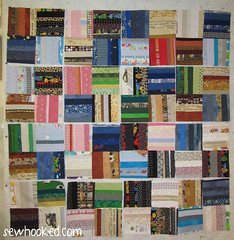 Orphan Blocks made from miscellaneous donated strip sets