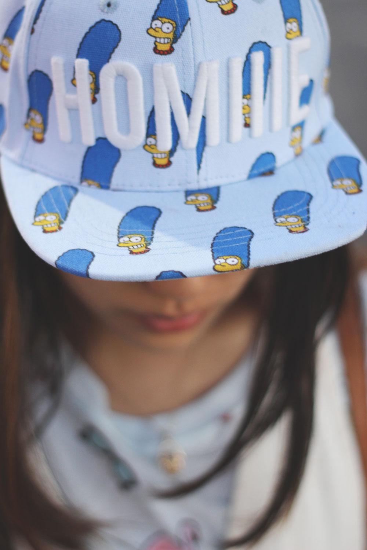 Marge Simpson Homiie baseball cap