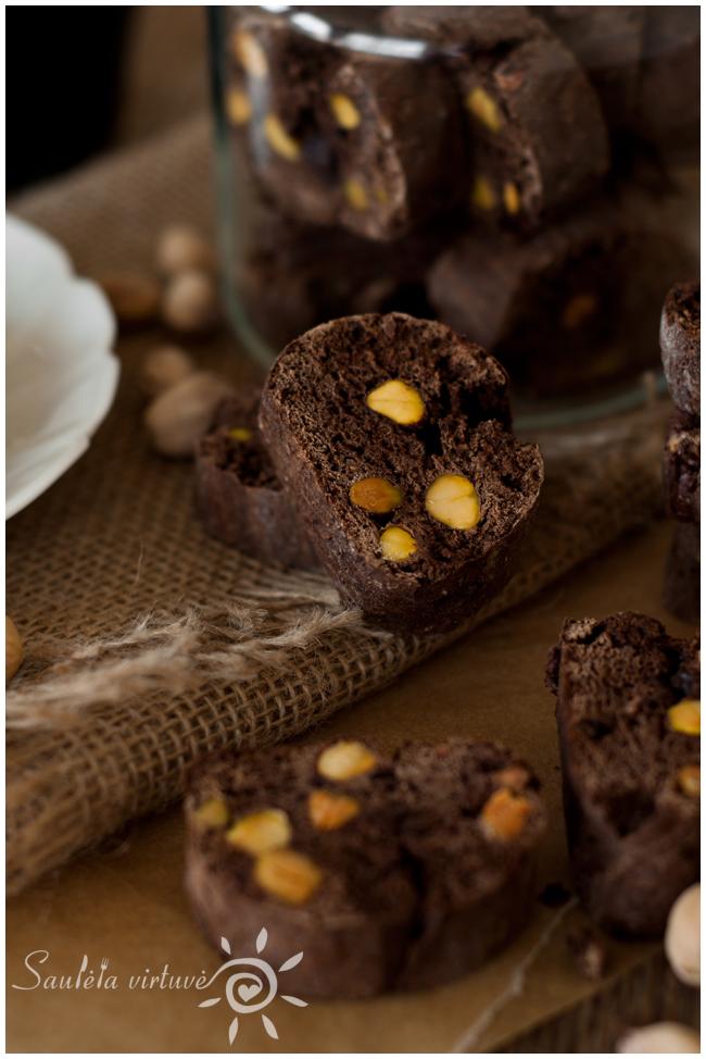 Šokoladiniai cantucci su pistacijomis (4)