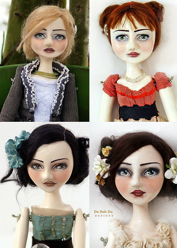 Art Dolls by Du Buh Du Designs 2010