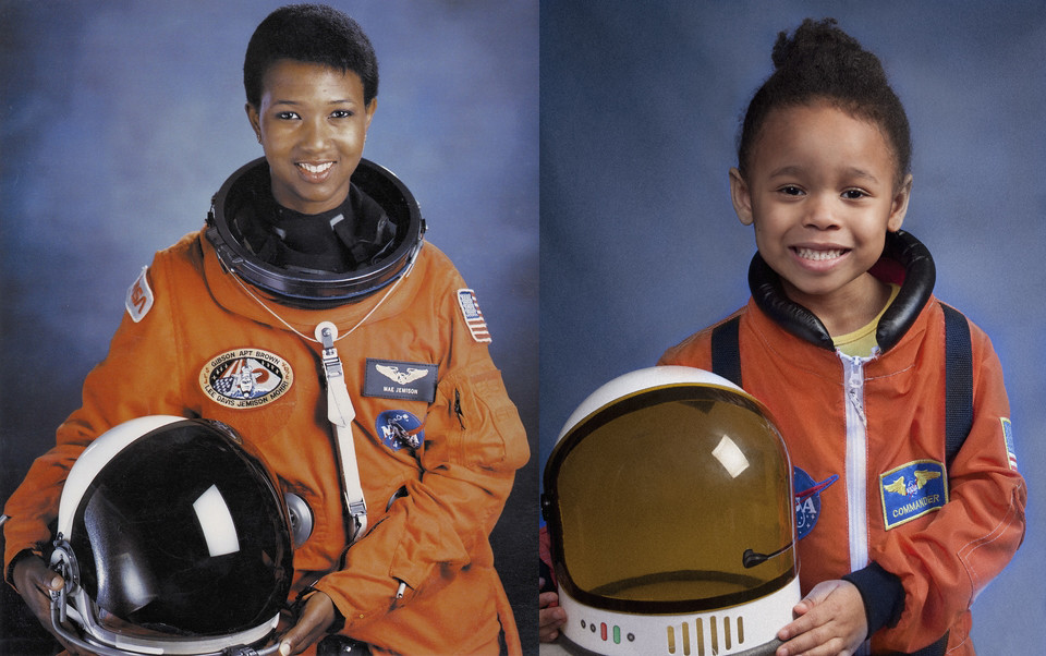 Lily as Mae Jemison