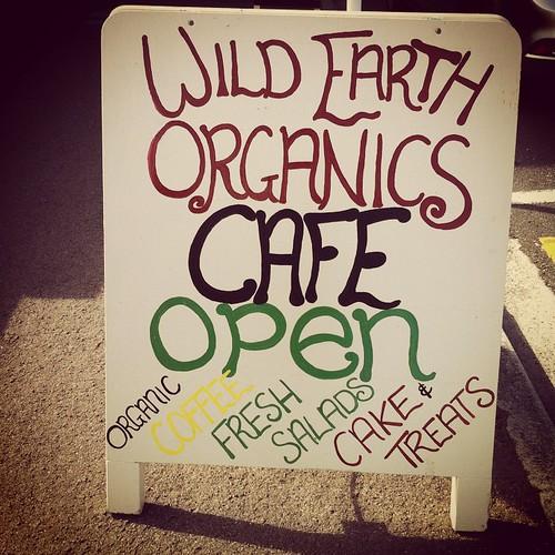 Wild Earth Organics café