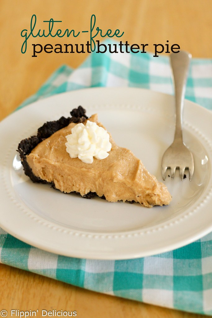 Gluten-Free Peanut Butter Pie. Creamy peanut butter filling in a crunchy gluten-free chocolate cookie crust, this recipe has been a family favorite for years.