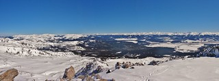 Mt Massive Winter Panorama