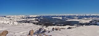 Mt Massive Winter Panorama