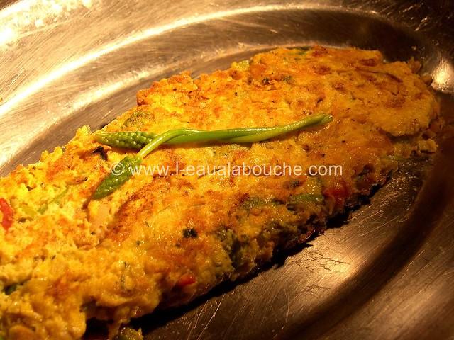Omelette d'Asperges Sauvages  © Ana Luthi  Tous droits réservés