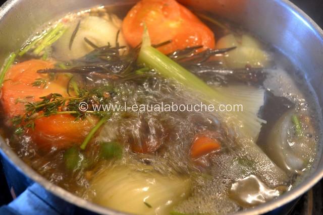 Carrelets au Court-Bouilllon et Beurre Blanc © Ana Luthi