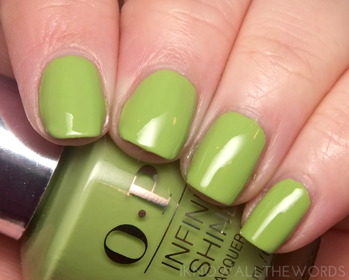 OPI infinite shine- to the finish lime! (9)