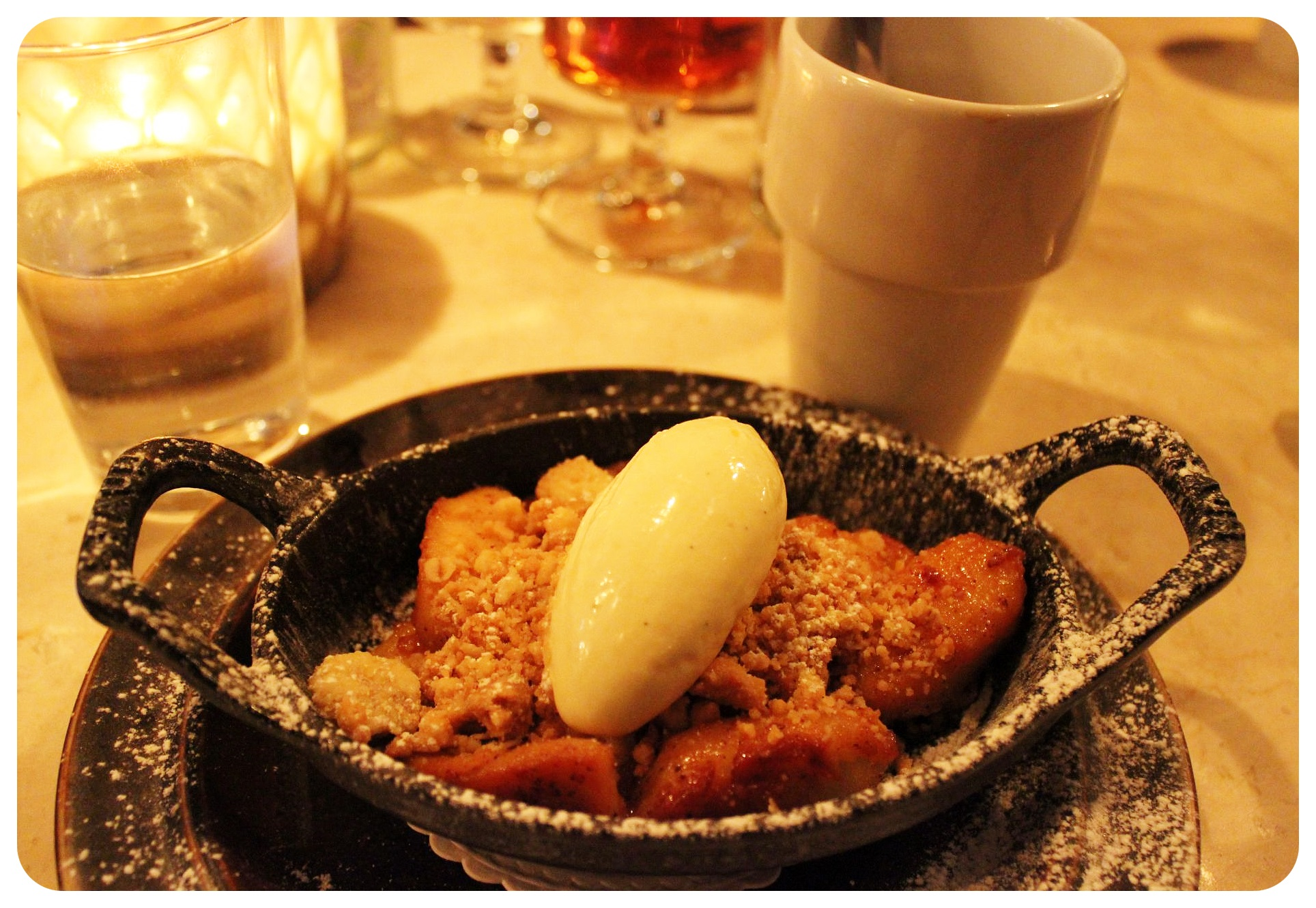 stockholm swedish apple crumble