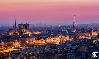 Paris @ Sunset