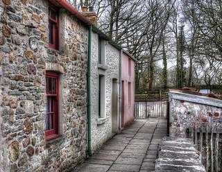 Pink Cottage Lane