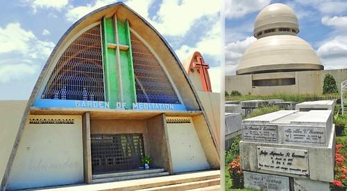 Philippines, Cebu, Queen city Memorial Gardens, chapels & tombs #PhiΙippines
