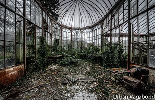 the green house...