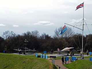 Battle of Britain Memorial-The Wing.
