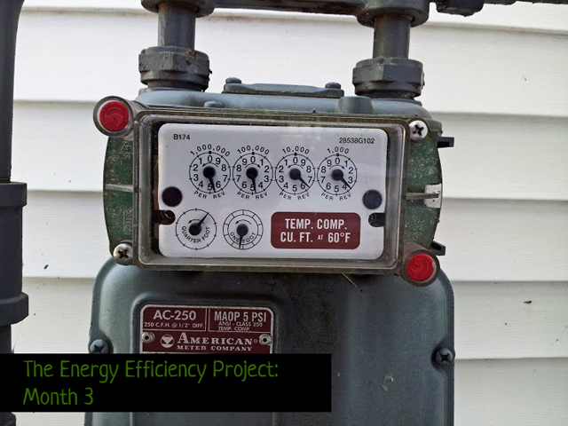 energy efficiency project month 3