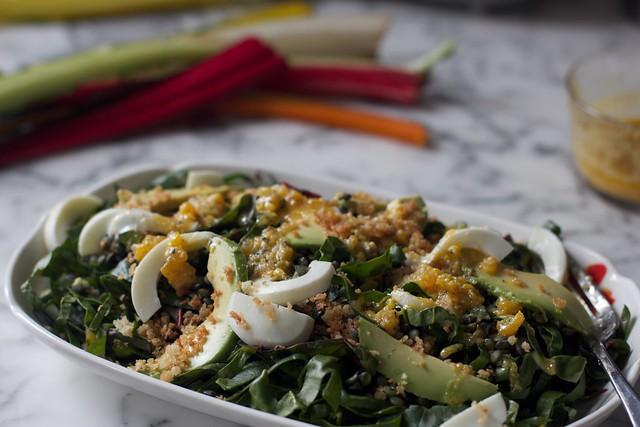 Swiss Chard Salad (13)