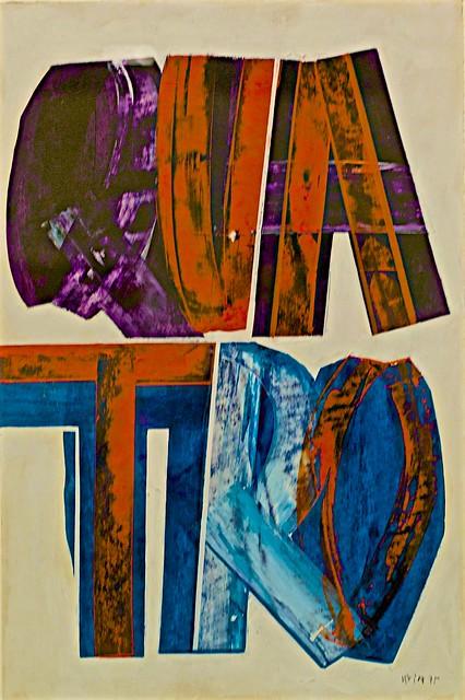 QUATRO/QUATRE/FOUR (1975) - João Vieira (1934-2009)