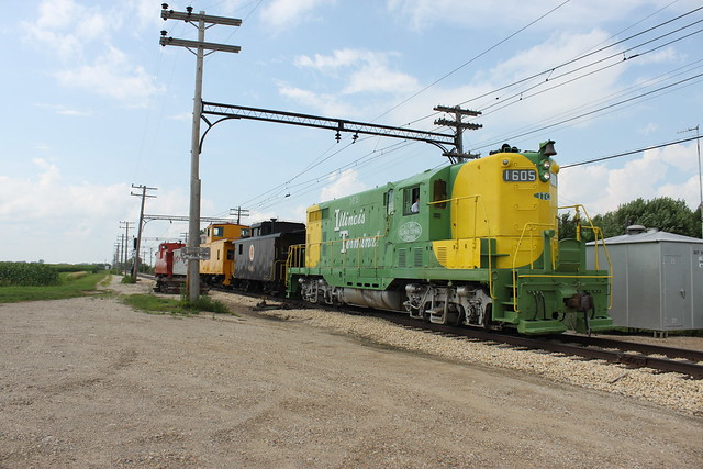 Illinois Terminal Caboose Train